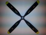 4-Blatt Scale Propeller