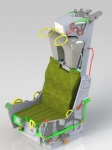 Schleudersitz MK7 im Maßstab 1:7