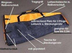 Toddy bag, Flächentasche