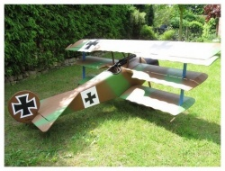 DR-1 flugfertig SPW. 2,1m mit ZG38