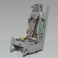 Schleudersitz Typ ACES II 1:5 (kit)