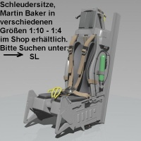 #NEU# Schleudersitz Typ ACES II 1:7 (kit)