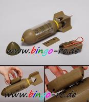RC Bombe abwerfbar, Attrappe inkl. Servo