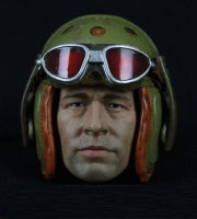 Pilotenhelm 1:6-5 m. Brille